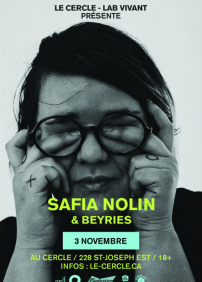 Safia Nolin + Beyries