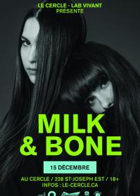 Milk & Bone + Hoodies at Night + Douze Camions