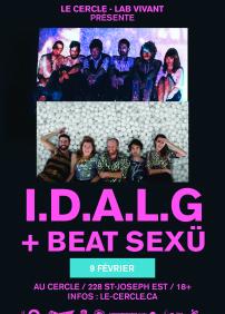 I.D.A.L.G + BEAT SEXÜ