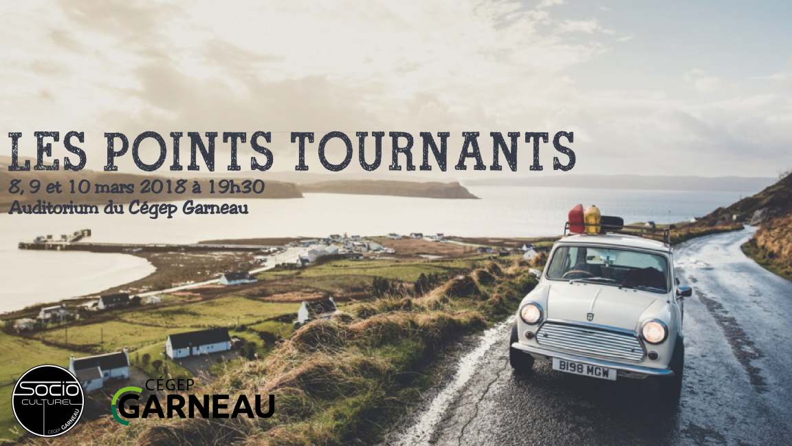 Les points tournants - Un road movie sans entracte