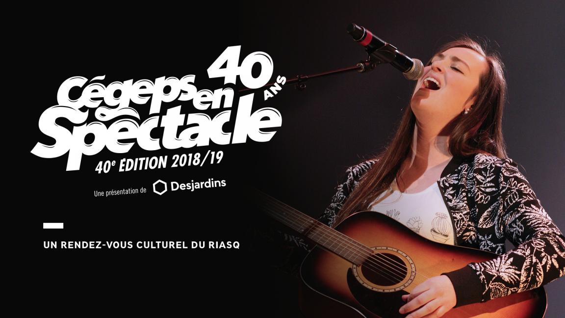 Finale locale de Cégeps en spectacle - Cégep Garneau
