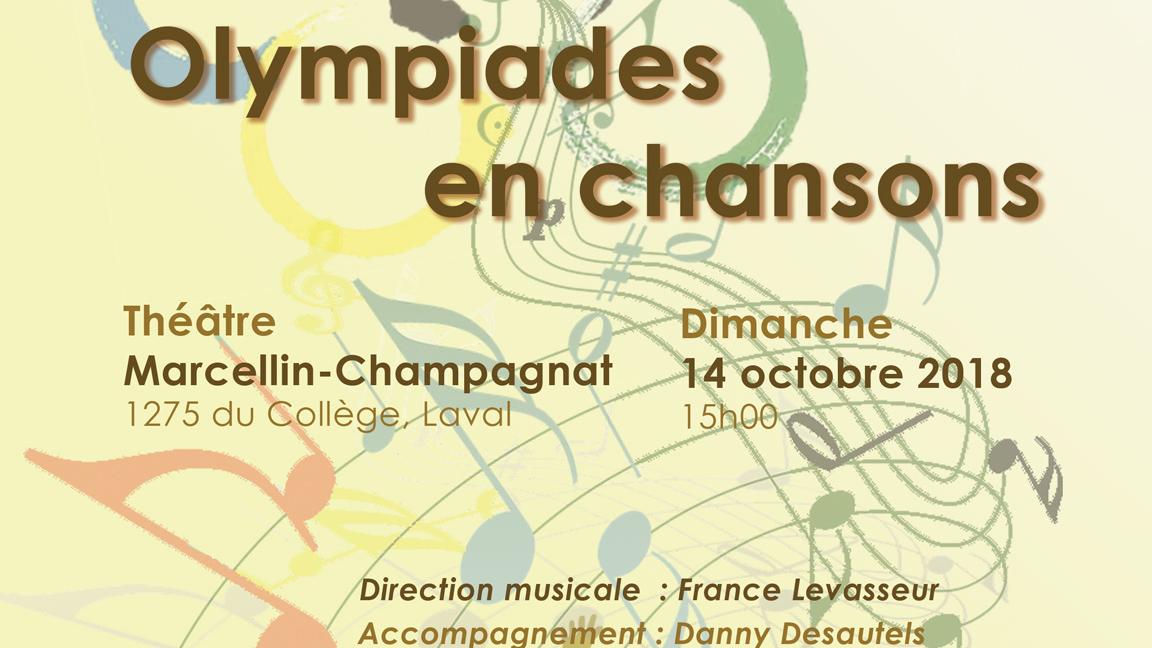 Olympiades en chansons