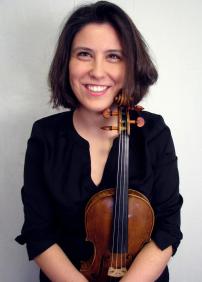 Marie Bégin, violoniste