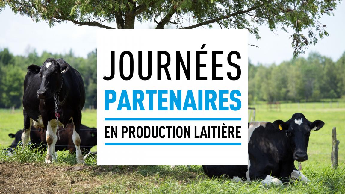 Journée partenaires en production laitière (Saint-Henri)