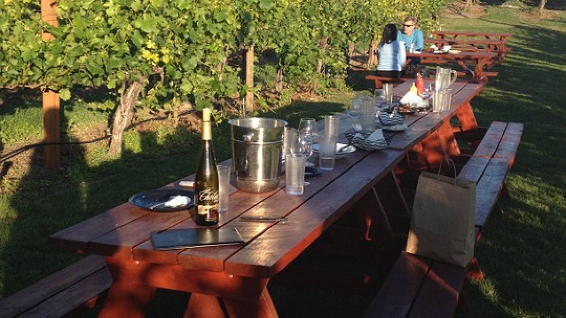 Head to the country for a gastronomic feast at a winery!