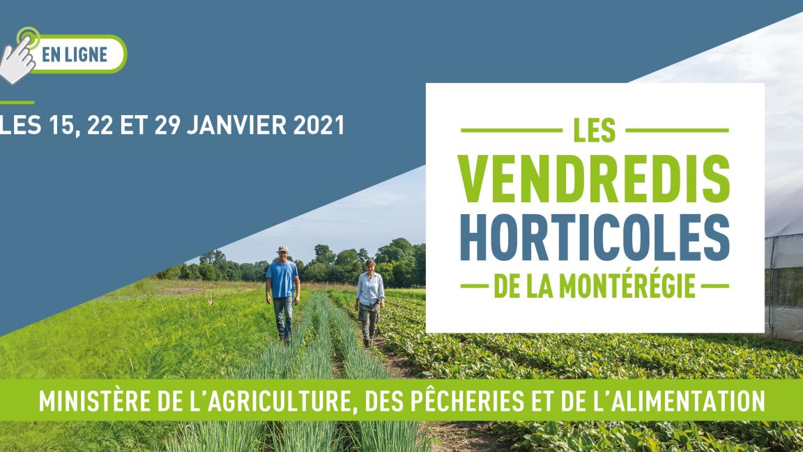 Vendredis horticoles Montérégie