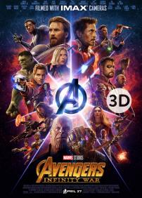 Avengers - Infinity War 3D