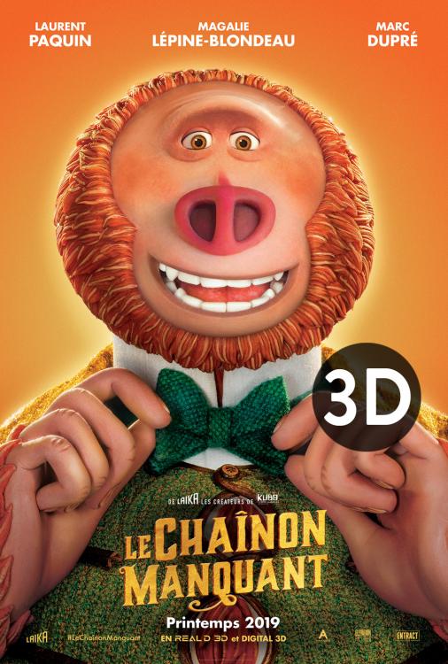 Chaînon manquant, Le 3D