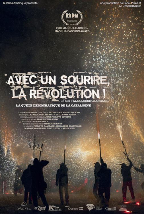 Avec un sourire la révolution V.O.F et S.-T.F.