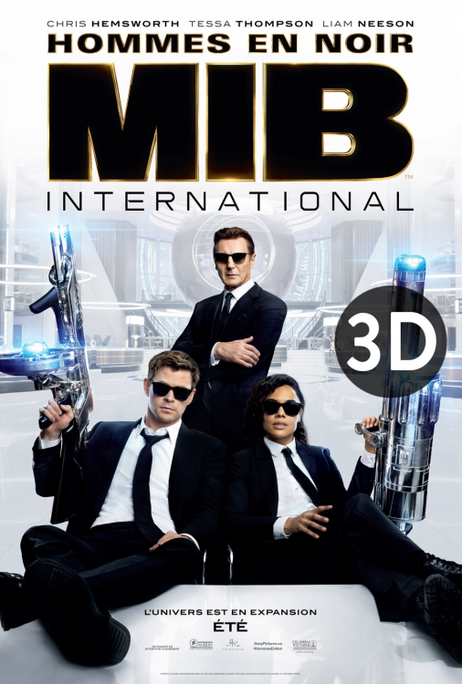 MIB - Hommes en noir international 3D