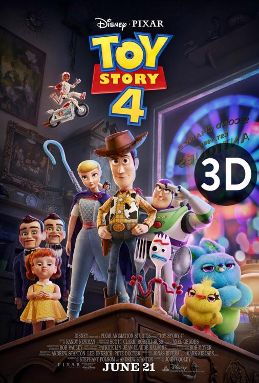 Toy Story 4 3D V.O.A.