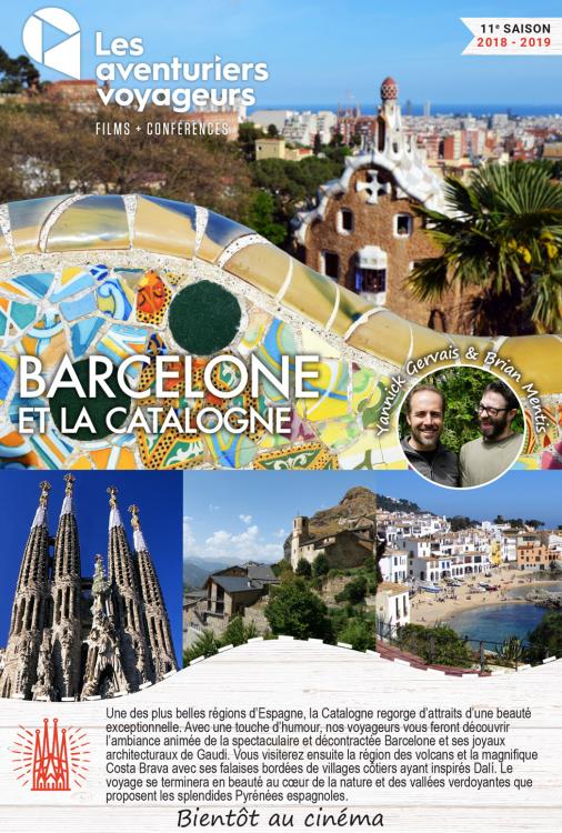 Ciné Voyage Barcelone et Catalogne