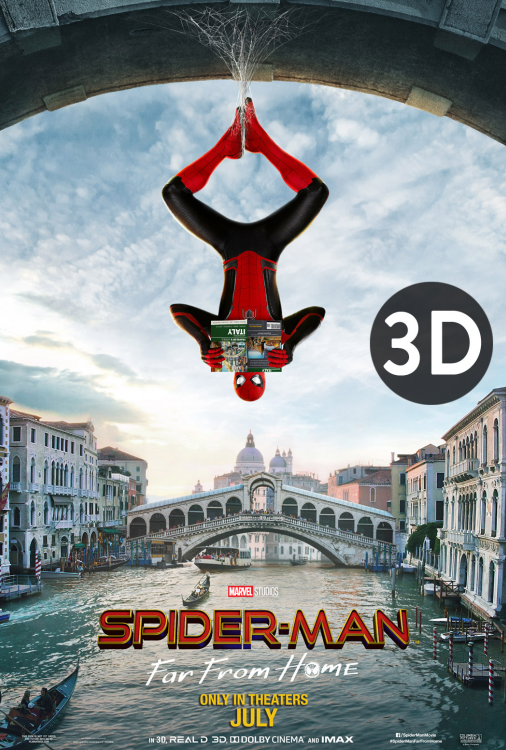 Spider-Man - Far From Home 3D V.O.A.