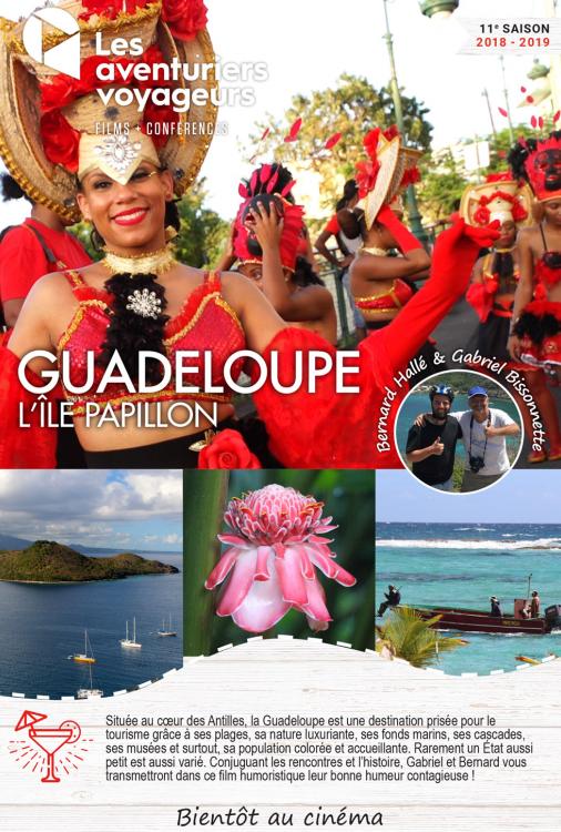 Ciné Voyage Guadeloupe - l'île papillon
