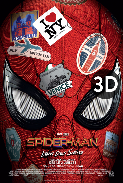 Spider-Man - Loin des siens 3D V.F.