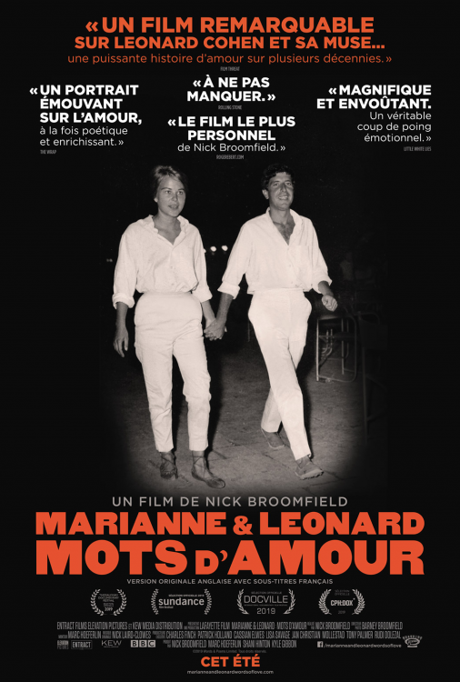 Marianne et Leonard - Mots d'amour V.O.A.S.-T.F.