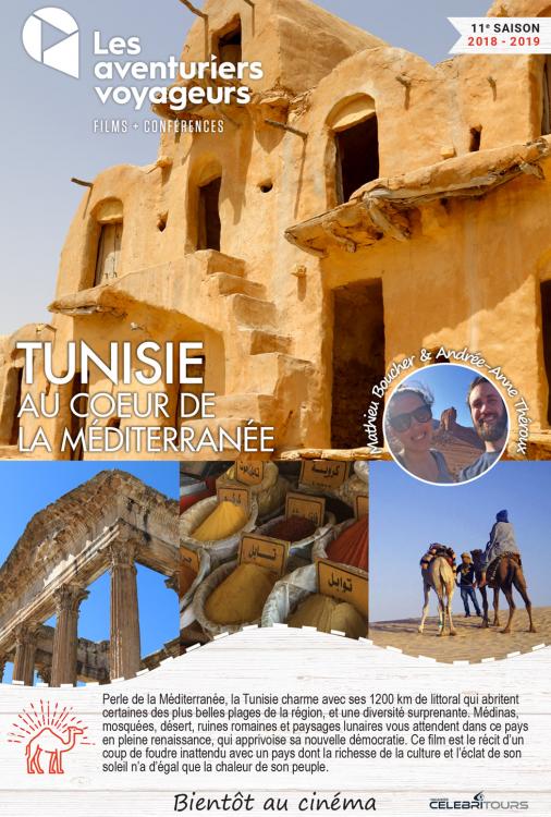 Ciné Voyage Tunisie - Au coeur de la Méditerranée