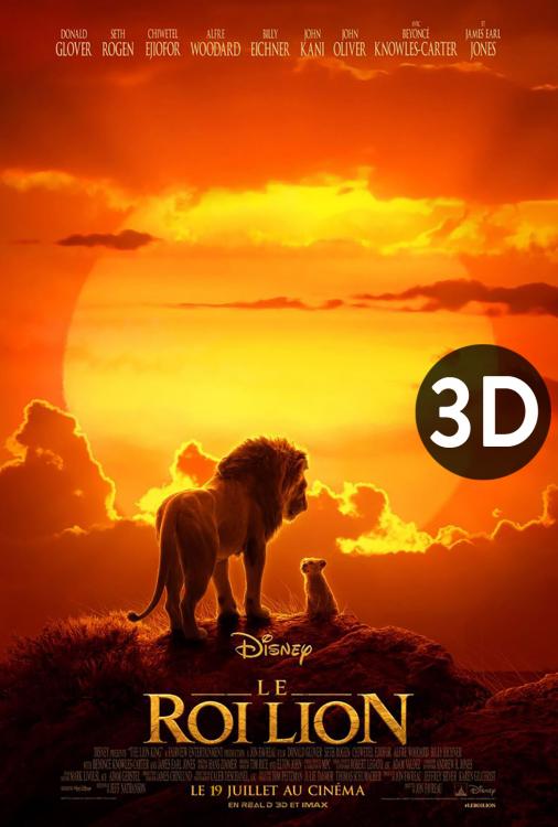 Roi lion 3D, Le