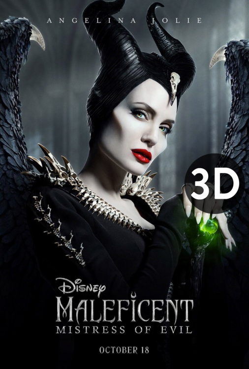 Maleficent - Mistress of Evil 3D V.O.A.