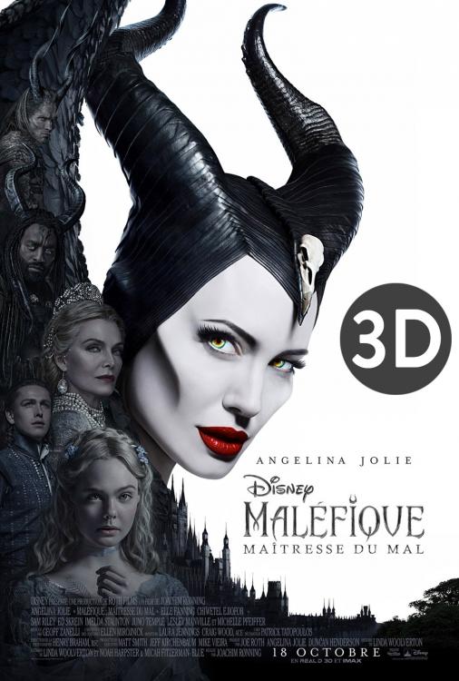 Maléfique - Maîtresse du mal 3D V.F.
