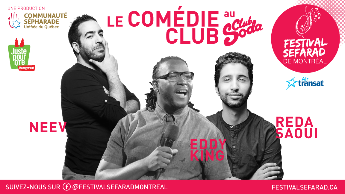 Le Comédie Club - Eddy King, Neev et Reda Saoui