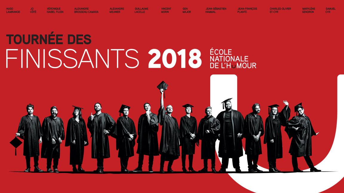 Spectacle de la Tournée des finissants, cuvée 2018