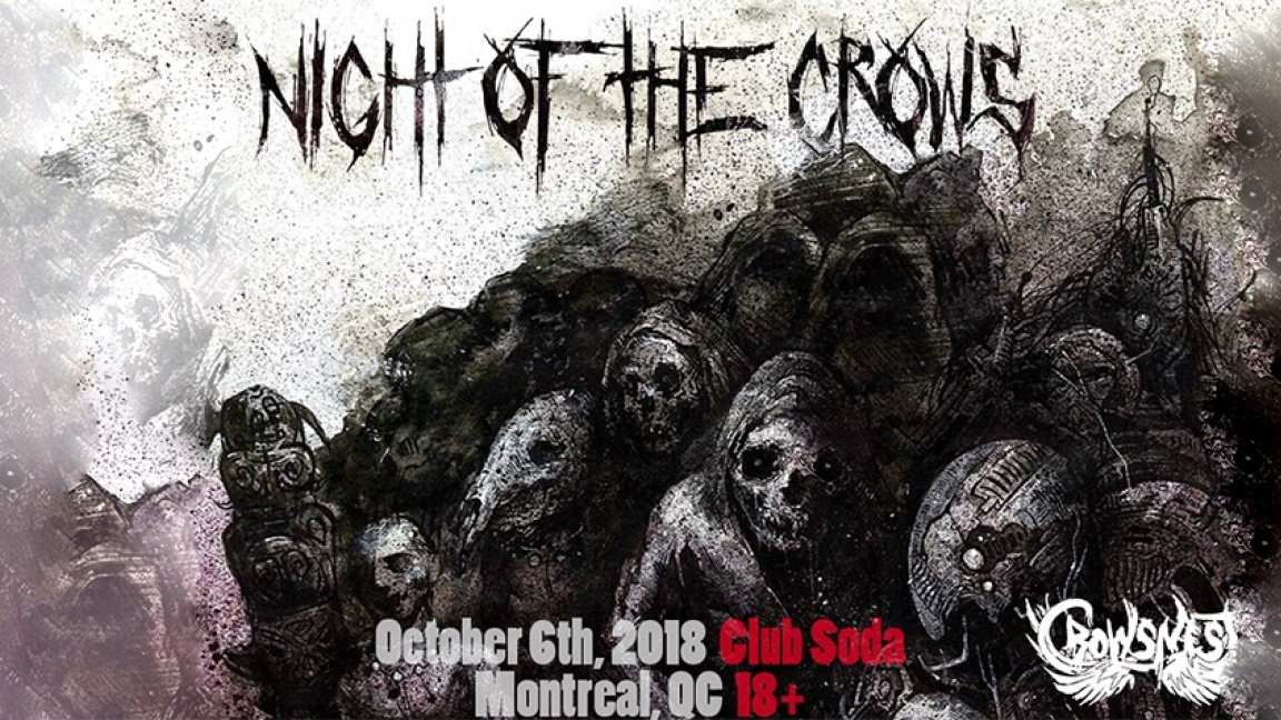 Crownest Audio presents: Night of the Crows - 18+
