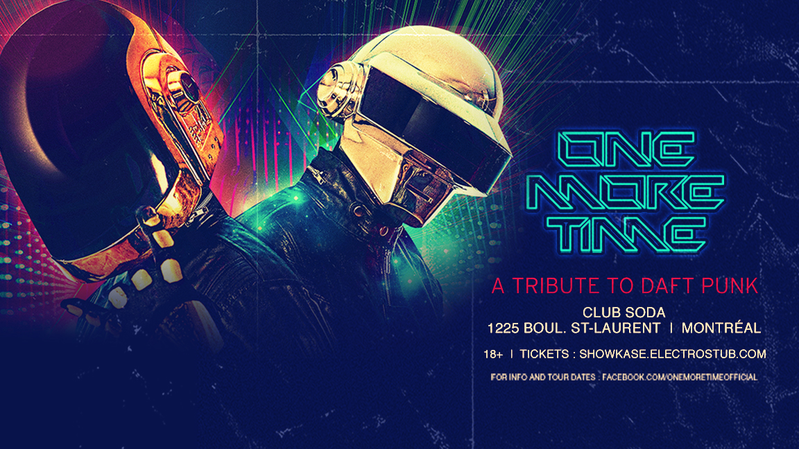 ONE MORE TIME : A Tribute To Daft Punk - 18+