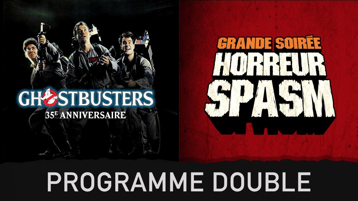 Ghostbusters + Grande Soirée Horreur - combos