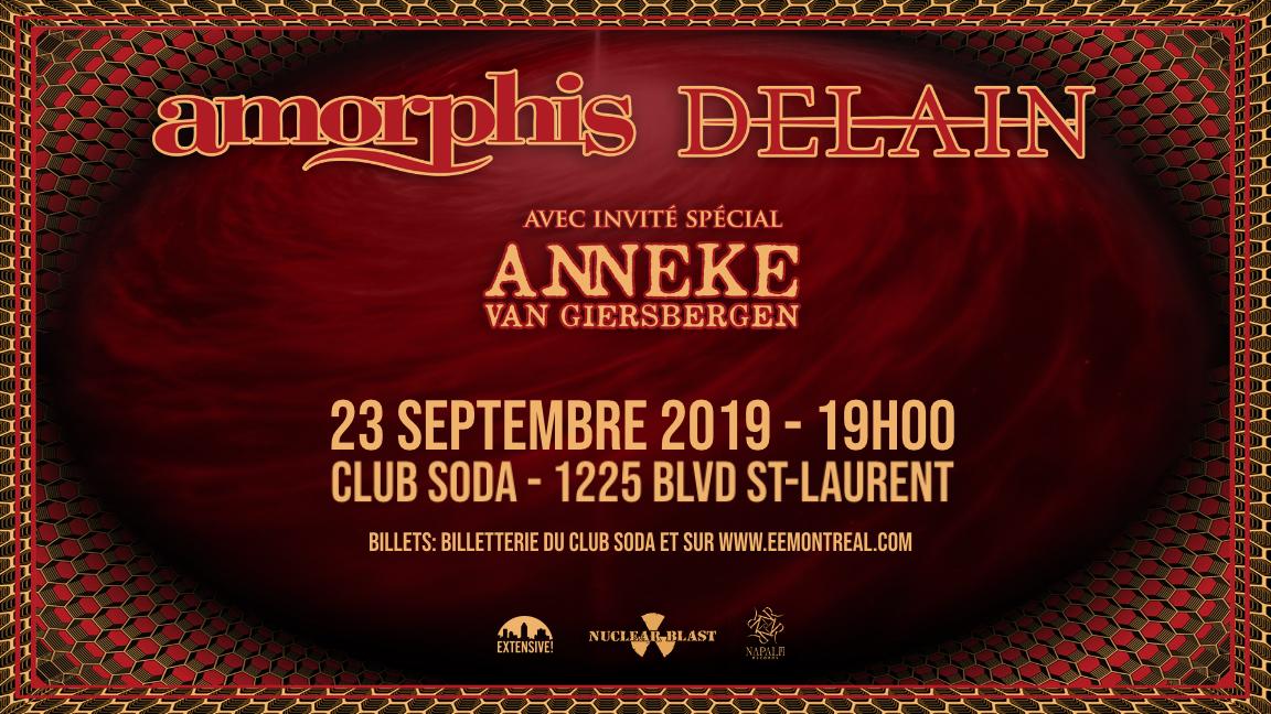 Amorphis / Delain