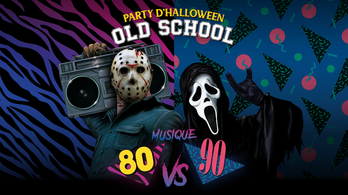 Party d'Halloween Old School -18+