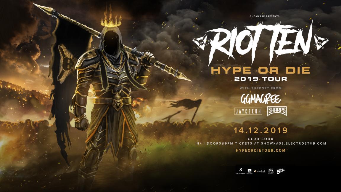 Riot Ten 2019 Tour - 18+