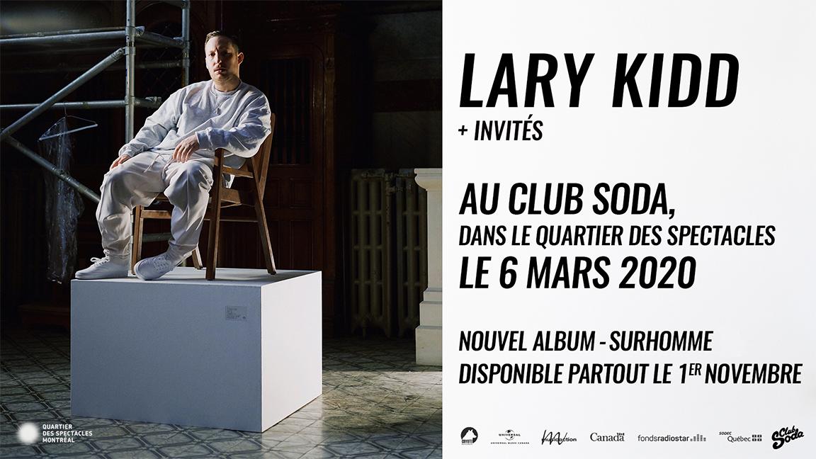 Lary Kidd - Surhomme (La supplémentaire)