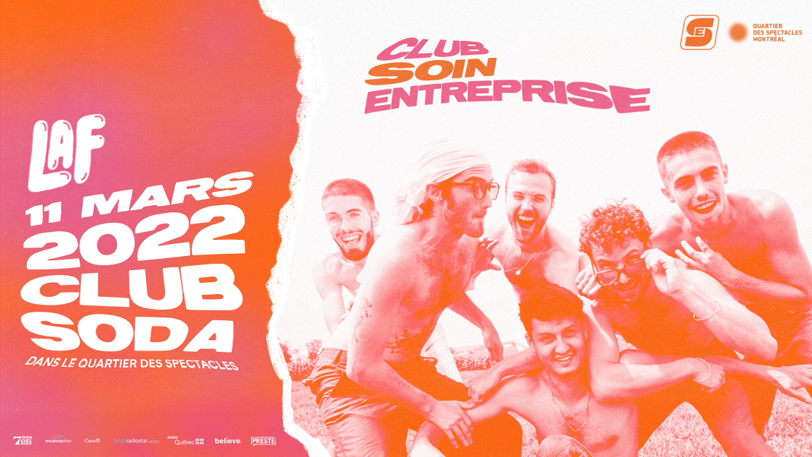 POSTPONED from March 14, 2020 to March 11, 2022 | LaF - Club Soin Entreprise