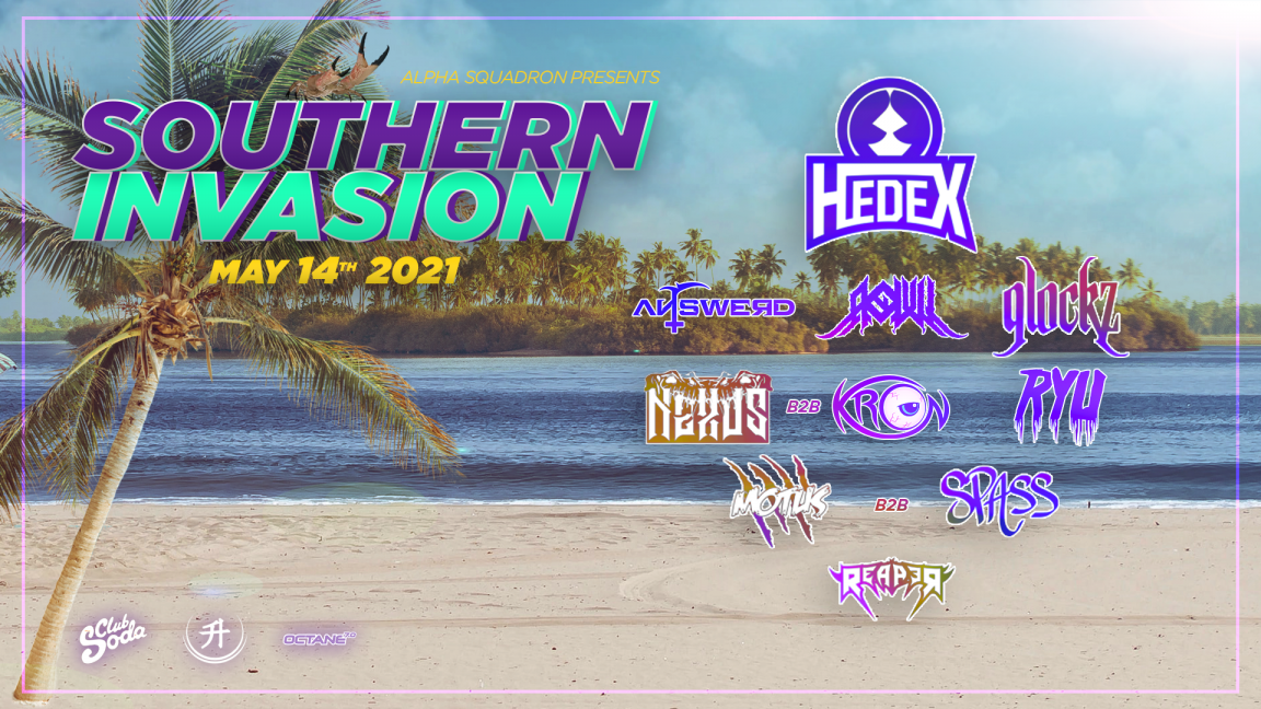 POSTPONED from May 22 to September 11 | Southern Invasion 2021