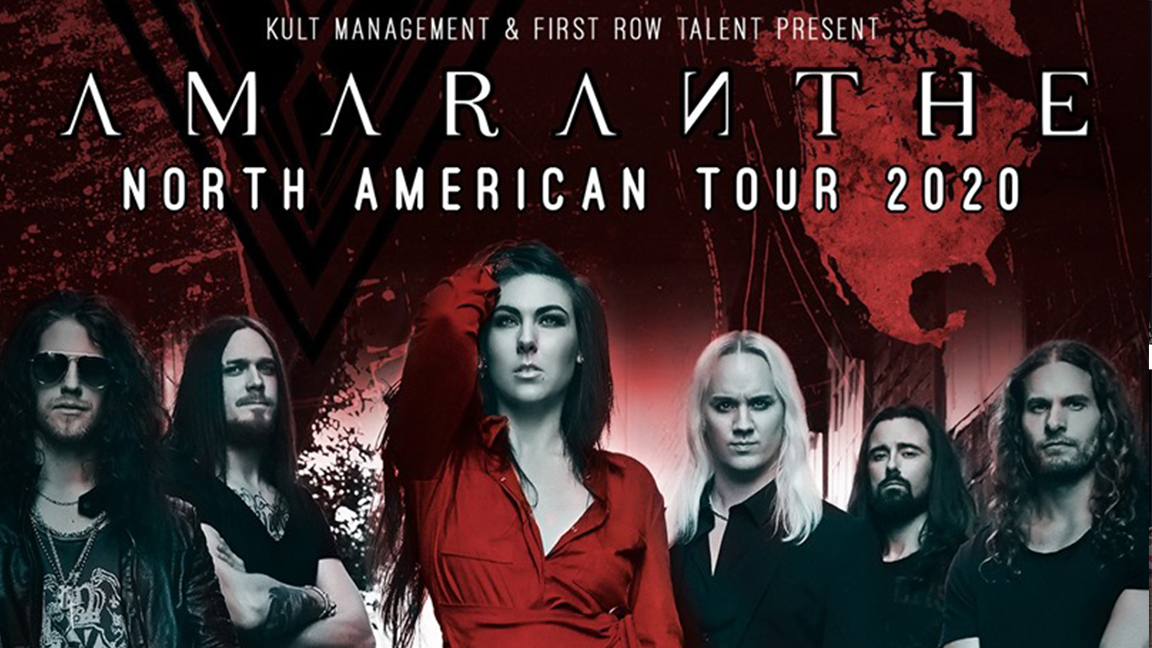 CANCELLED | Amaranthe
