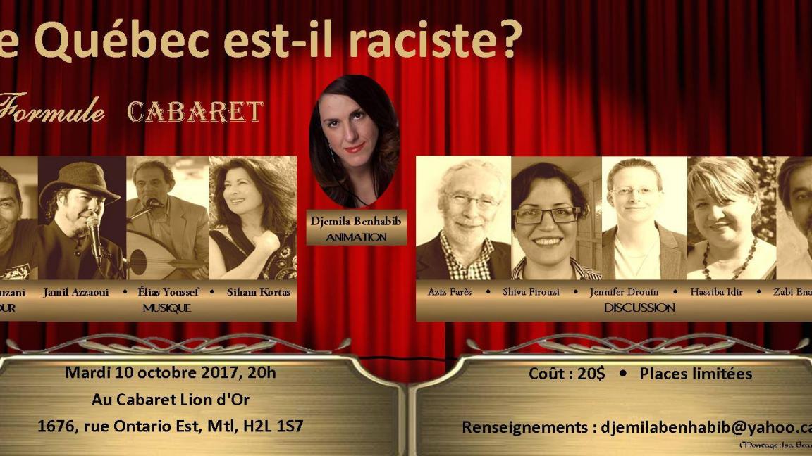 Le Québec est-il raciste?