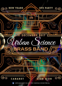 NYE Urban Science Brass Band