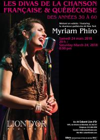 Les divas de la chanson française et québécoise