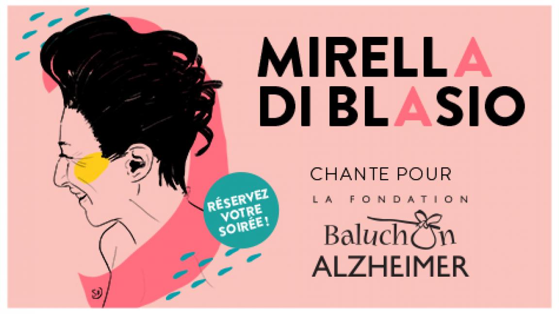 Mirella Di Blasio chante pour Baluchon Alzheimer
