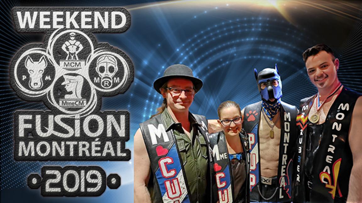 Concours Weekend Fusion Montréal 2019