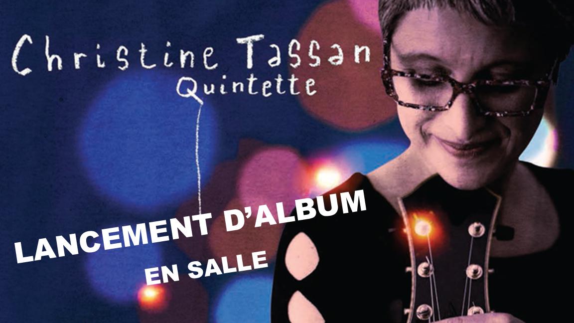 Christine Tassan Quintette – Lancement de Voyage intérieur – SPECTACLE EN SALLE