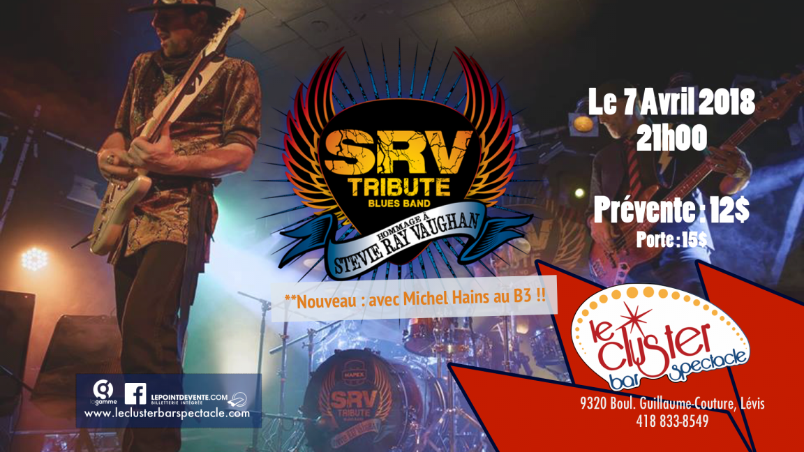 SRV Tribute Blues Band - Stevie Ray Vaughan