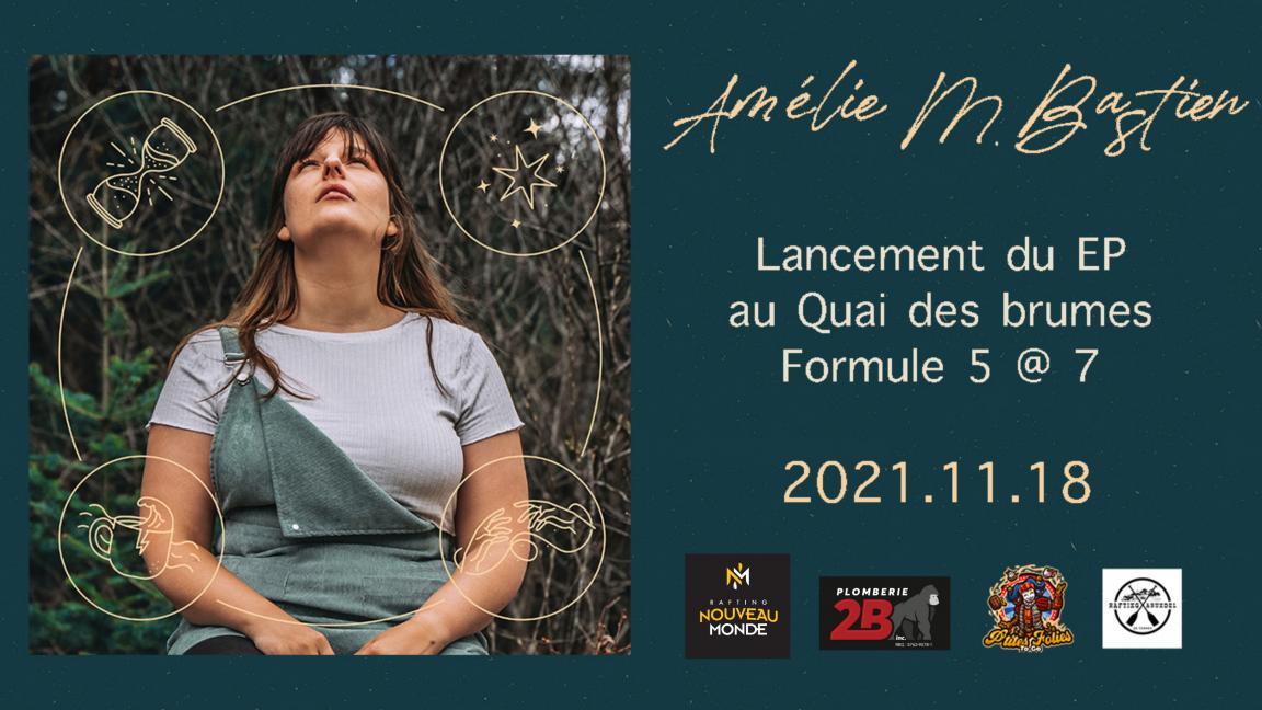 Lancement d'EP: Amélie M. Bastien