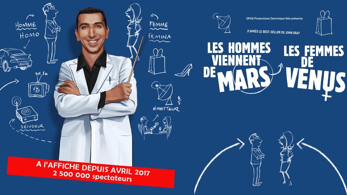 LES HOMMES VIENNENT DE MARS LES FEMMES DE VENUS