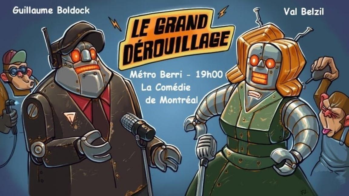 LE GRAND DEROUILLAGE, SOIREE D'HUMOUR