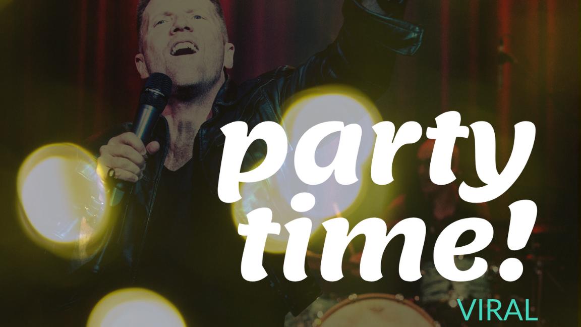 PARTY TIME viral avec MARTIN FONTAINE- Cyber Memphis Live - Dans le confort de votre salon