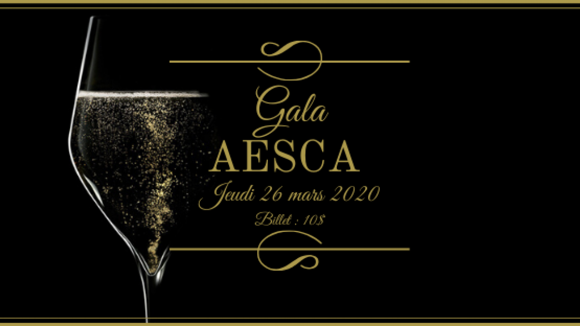 Gala AESCA 2020