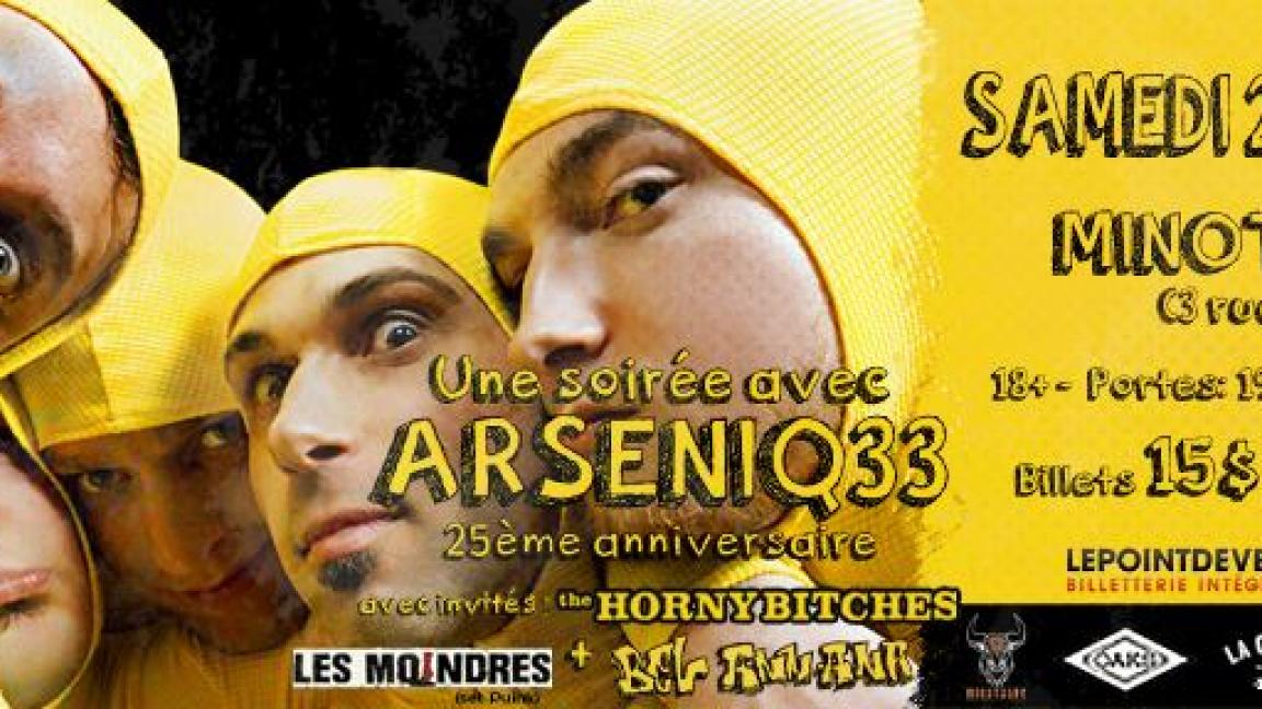 Arseniq33 - 25e anniversaire