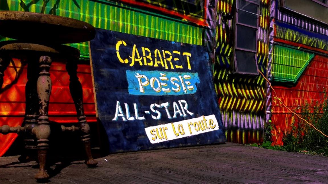 RVGG - Cabaret Poésie All-Star - Sur la route